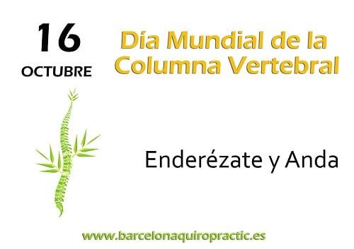 En BArcelona Quiropráctic, festejamos el Día Mundial de la Columna Vertebral.