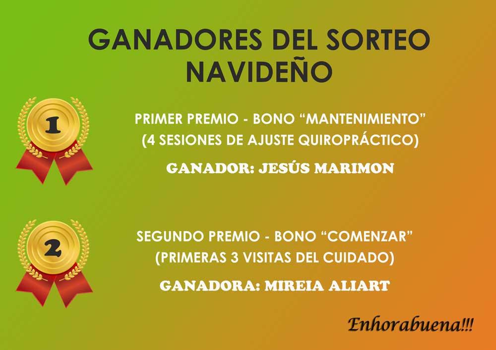 Ganadores-SORTEOENE2015